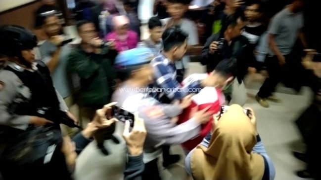 POLISI TETAPKAN TERSANGKA PENCABULAN PELAJAR MAGANG BANJARBARU